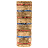 Deco Mesh Ribbon with Jute - 10""